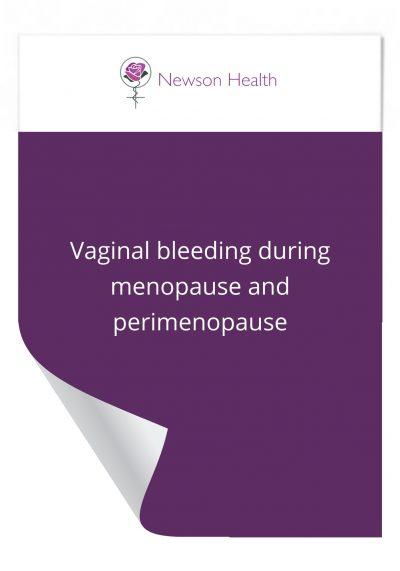 Vaginal Bleeding during Menopause and Perimenopause