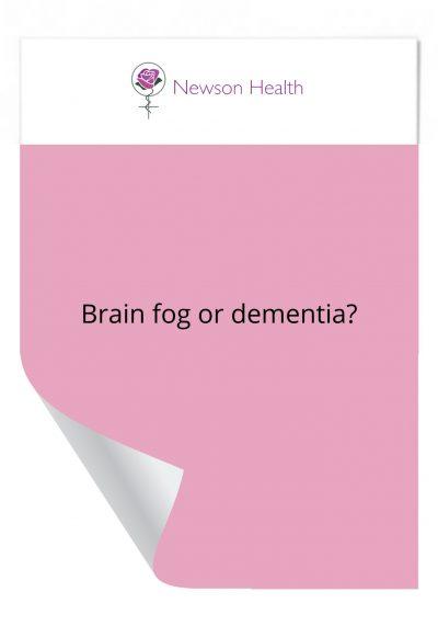 Brain fog or dementia?